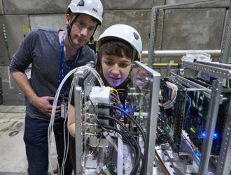 ESA and Irish start-up blast space AI chip with intense radiation
