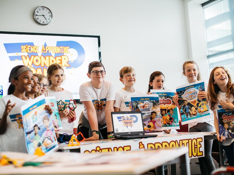 Wonder kids: Make way for the science generation