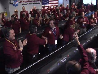 After incredible Mars touchdown, InSight sends back its first photos
