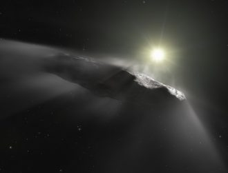 Nearby, mysterious interstellar object could be of alien origin