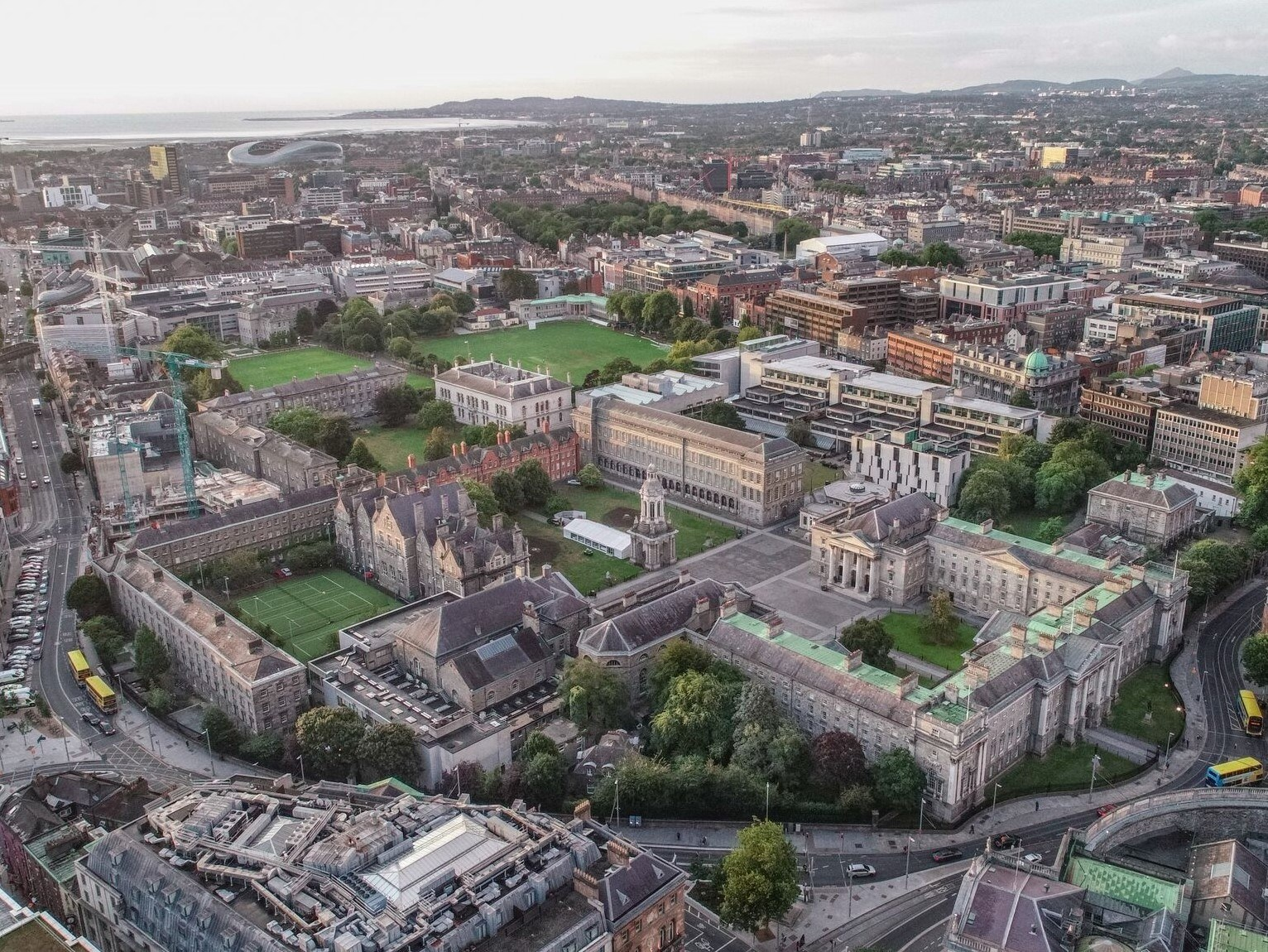 Trinity College Dublin reveals €230m blueprint for the campus of the