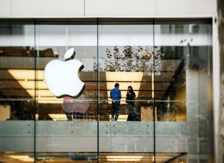 Apple Store in Frankfurt Germany.