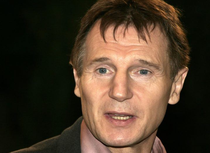 Headshot of Taken actor Liam Neeson.