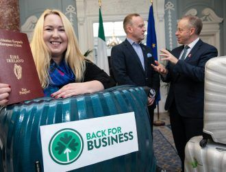Irish Government to help returning emigrants to start up