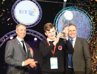 Quantum computing project leaps to the top spot at BT Young Scientist