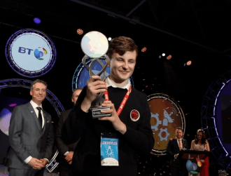 Adam Kelly wins big for quantum computing project at BTYSTE