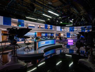 RTÉ invests in a major tech overhaul of its TV news studio