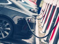 Which country has become a world leader in electric vehicles?