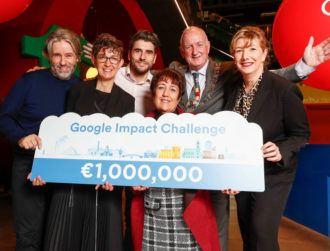 15 projects selected for €1m Google.org Dublin Impact Challenge