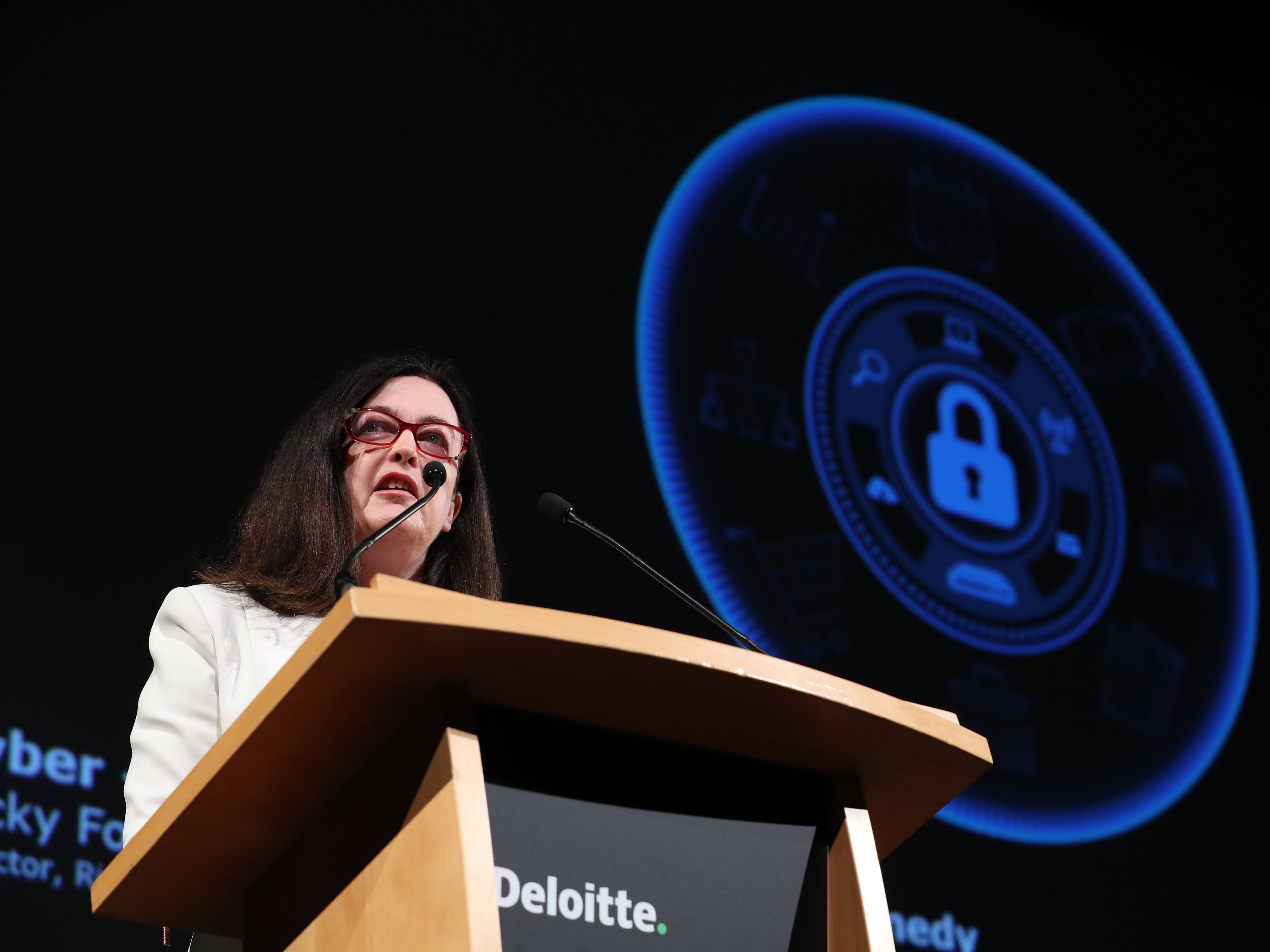 Deloitte's Jacky Fox: 'The cybercriminal is becoming more automated'