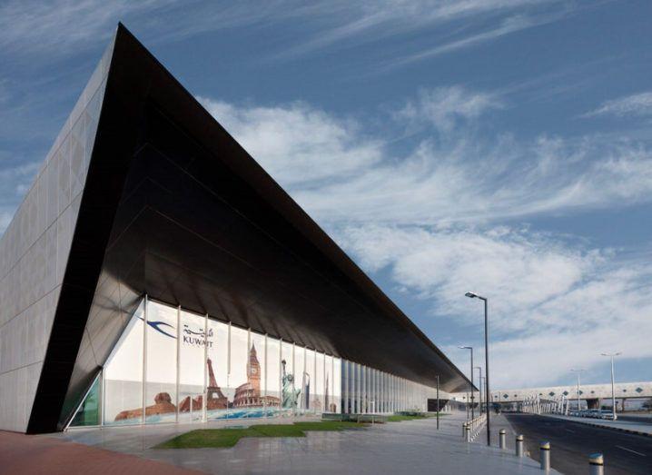 Design of Kuwait International Airport facade using FenestraPro software.