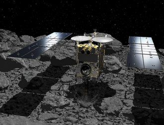 Japan successfully 'bombs' asteroid in search for origin of life
