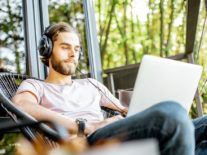 How does music impact your productivity at work?
