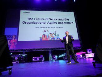 Slack's Stuart Templeton: 'Knowledge work is the new norm'