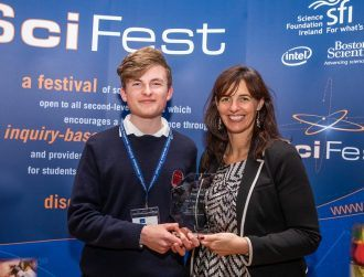 Irish quantum computing prodigy to attend Nobel Prize event after award win