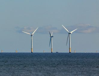Surveying for a wind farm has commenced along Ireland's east coast