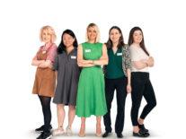 Two of the five women awarded Sky's 2019 Women in Tech scholarship are Irish