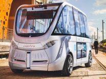 Navya suspends autonomous bus trials in Vienna after collision