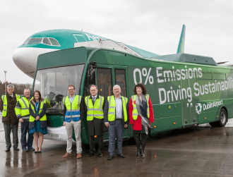 Dublin Airport is implementing its electric vehicle strategy