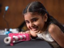 Nine-year-old inventor wins award for ingenious Smart Stick for the blind