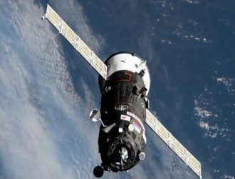 Spacecraft sets record travel time to ISS in just over three hours