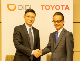 Toyota invests $600m in ride-hailing service Didi