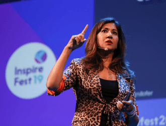 Inspirefest 2019: Nilofer Merchant on how to get your voice heard