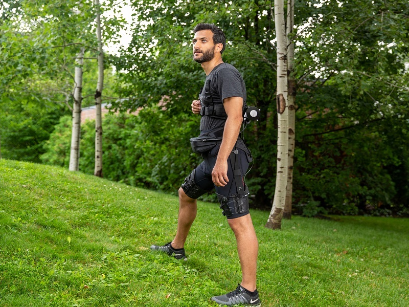 Ultra-light exosuit built by Irish-led team excels at running and walking