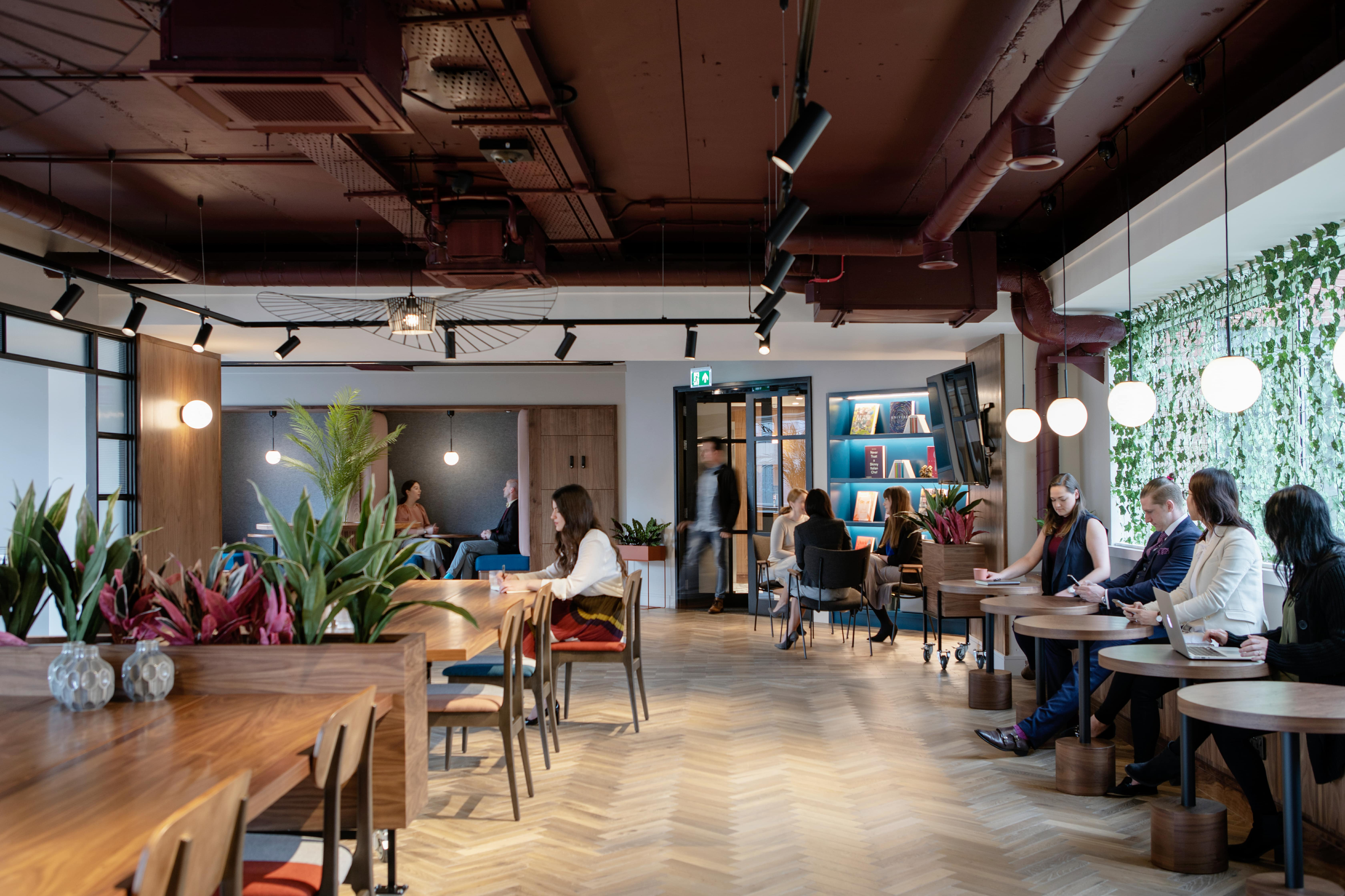 Inside a Glandore flexible workspace