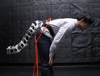 This 'cyborg' tail for elderly people will help them keep their balance