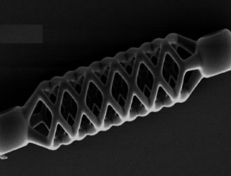 The world's smallest, 4D-printed stent is even smaller than you think