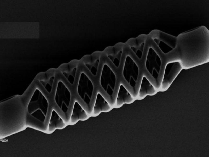 The world's smallest, 4D-printed stent is even smaller than