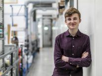 Quantum pioneer Adam Kelly named one of Europe's best young scientists