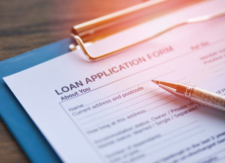 Loan application lending service newly offered by Stripe Capital.