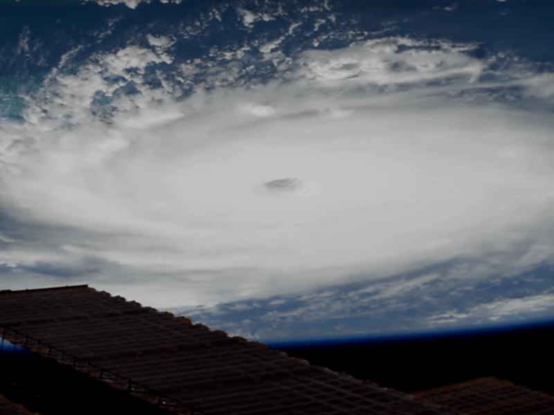 Stunning GIFs of Hurricane Dorian from space reveal its immense power