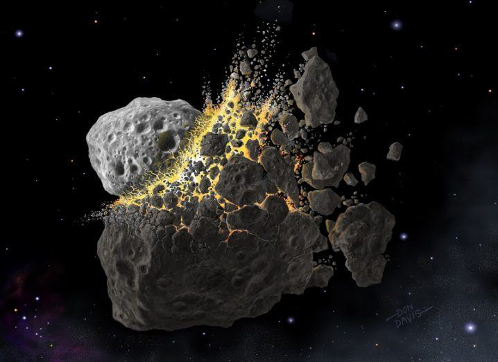 Ancient asteroid collision boosts biodiversity on Earth
