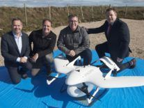 The Seagull has landed: Drone delivers crucial diabetic meds to Aran Islands