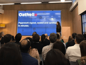 Oathello aims to make the movement of paperwork a breeze