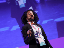 Zile discusses germinating ideas and achieving goals