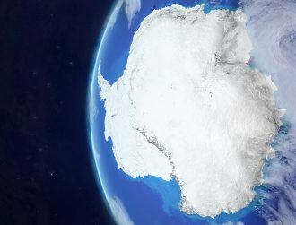 Antarctica's ozone hole is smallest size in decades, no thanks to us