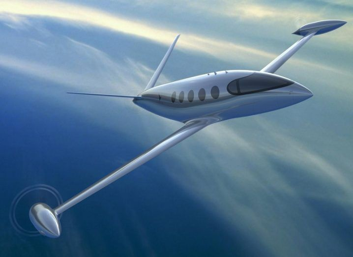 Concept image of an Eviation Alice all-electric aircraft.