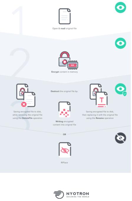 Nyotron infographic explaining RIPlace.