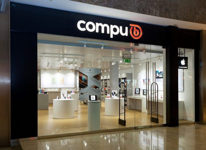 The Compu B storefront in Swords, Dublin.