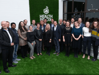 HealthBeacon welcomes Boston Irish Business Association to its Dublin HQ