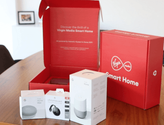 Virgin Media teams up with Google to launch smart home packages