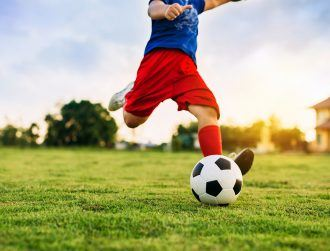 Study claims half of Irish kids can't kick a ball properly