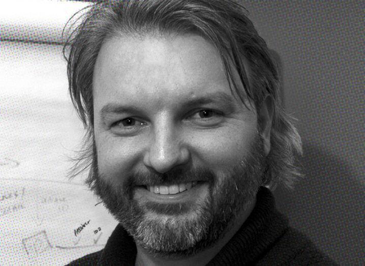 Black and white headshot of Robert O'Farrell, CTO at ID-Pal.