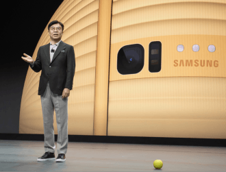 Samsung shows off Ballie the robot and a vertical TV at CES