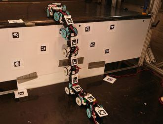 A slithering snake robot could one day come to your rescue