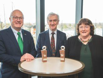 Ann Kelleher and Neville Hogan awarded St Patrick's Day Science Medal